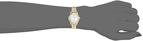 Timex Women's T2M827 Elevated Classics Dress Gold-Tone Expansion Band Watch