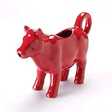 Food Network Red Cow Creamer / Pitcher