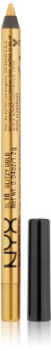 NYX Professional Makeup Slide On Pencil,SL18 Glitzy Gold