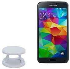 Phone Grip for Galaxy S5 (Phone Grip by BoxWave) - SnapGrip Tilt Holder, Back Grip Enhancer Tilt Stand for Galaxy S5, Samsung Galaxy S5 - Winter White