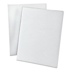 20lb Quadrille Pad W/8 Squares/inch, Letter, White, 50 Sheets By: Ampad