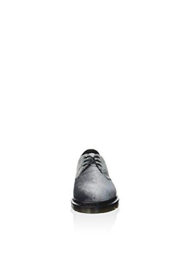 Dr. Martens 1461 Femme Chaussures Gris Gris