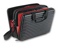 Xcase Laptoptasche: Hardcase-Tasche für Notebooks bis 39 cm/15,4 (Laptop Case)