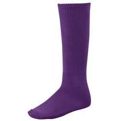 Price comparison product image Twin City Youth Solid Sport Tube Socks - COLOR: Purple