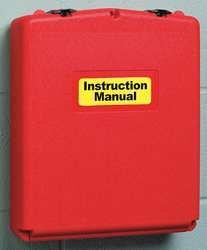 Justrite Document - Document Box, 13-1/8 In. W, 3-4/7 In. D