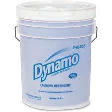 Dynamo PB48305 Dynamo Liquid Laundry Detergent, 5Gal, White by Ajax-Phoenix Brands