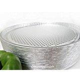 Disposable Aluminum 13'' Pizza Pans By D & W Fine Pack #C81 (250)