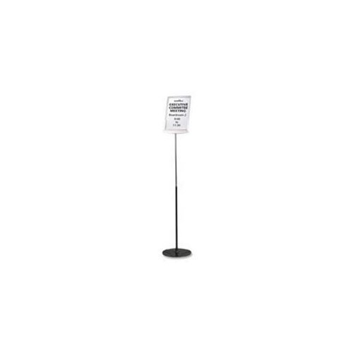 Durable Floor Model Sign Holder