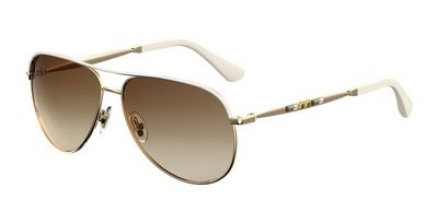 Jimmy Choo Jewly/s Gold Sunglasses