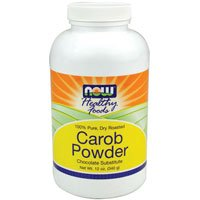 12 Oz Carob Powder (Carob Powder Roasted, 12 oz by Now Foods (Pack of 3))