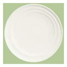 Syracuse China Resonate Royal Rideau Coupe Plate, 6.5 inch -- 36 per case.