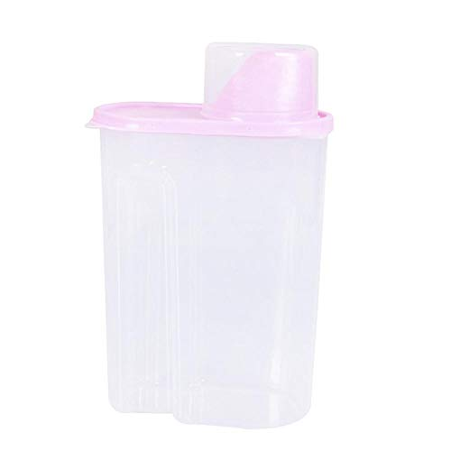 Celiy  Plastic Kitchen Food Cereal Grain Bean Rice Storage Container Box Storage -