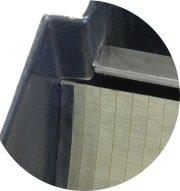 Spaltsiebfilter Bogensiebfilter BoFiTec MasterScreen 150/µ Auslauf rechts