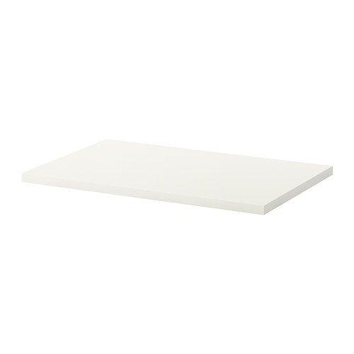 Ikea Linnmon Desk Table Top 47 Inch with Feltectors (White)