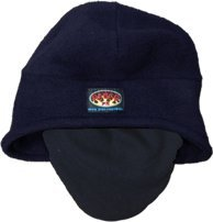 Rasco FR Navy Fleece Hat with Face Cover NFH31 Flame Resistant Head Cover by Rasco FR