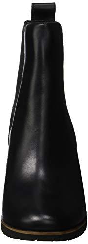 Anne Timberland Jet Nero Leslie Eurovintage Donna 15 Black Chelsea Stivali 47xv7nf5q