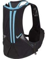 Nike Trail Kiger Vest 3.0, Running, Hiking, Black/Blue (Large) [並行輸入品] B07R4TWQ4X