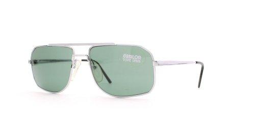 Essilor 941 73 Silver Authentic Men - Women Vintage - Sunglasses Essilor