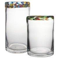 Multi Color Rim Rocks Glass – Set Of 6 Review