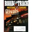 Road & Track August 2010 Mustang vs Camaro on Cover, Rolls Royce vs Bentley, Ferrari 599 GTO, Aston Martin V12 Vantage
