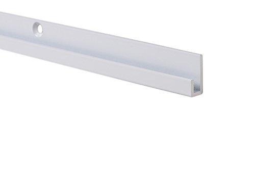 - STAS art gallery hanging system: STAS j-rail max white 150cm + installation kit
