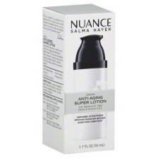 Price comparison product image Nuance Salma Hayek AM/PM Anti-Aging Super Lotion 1.7 Ounce - Lightweight, Moisturizes, Helps Protect Skin, and Visibly Smooth Fine Line and Wrinkles