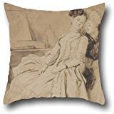 [Oil Painting Jean Honoré Fragonard - The Intimate Conversation Cushion Cases ,best For Kids Girls,dining Room,teens Boys,floor,gf,kids 16 X 16 Inches / 40 By 40 Cm(2] (In N Out Burger Halloween Costume)