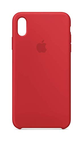 Price comparison product image Apple Silicone Case (for iPhone Xs Max) - (Product) RED