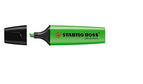 Marcador de Texto, Stabilo, BOSS 113.2006, Verde