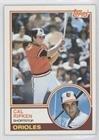 Cal Ripken Jr. (Baseball Card) 1983 Topps - [Base] #163 - Cal Ripken Memorabilia