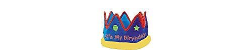 Birthday Fabric Crown]()