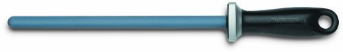 Wusthof 4455 10-Inch Sharpening Steel, Ceramic (Fine Ceramic Steel Sharpening Rod)