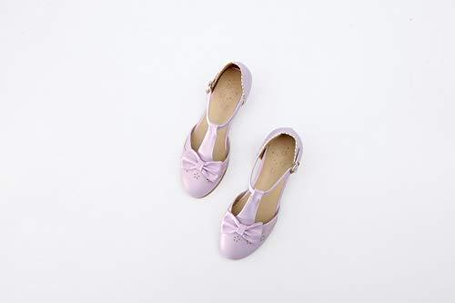 Purple Donna 1TO9 Sconosciuto MJS03533 Sandali Viola con Zeppa 35 01PqTB