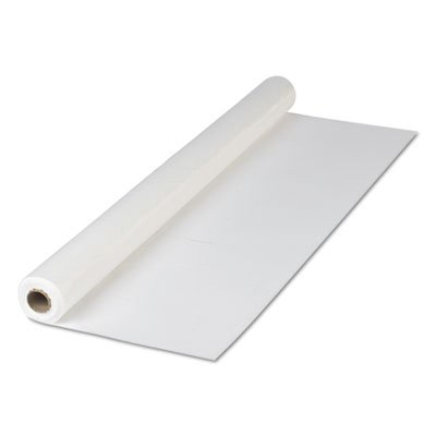 Hoffmaster 114000 Plastic Tablecover Roll, 300' Length x 40