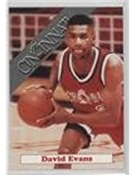 Amazon David Evans Basketball Card 1992 93 Cincinnati