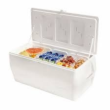 Rubbermaid 150 qt Marine Ice Chest (iceolators and refreeze bottles not included)