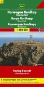 Carte routière : Norvège Cape Nord par Freytag