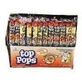 Top Pops Peach Taffy Pops 48 count 1lb .09 oz box