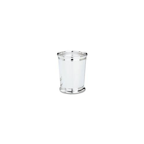 Reed & Barton 10-Ounce Silver Plate Mint Julep Cup with Double Banding