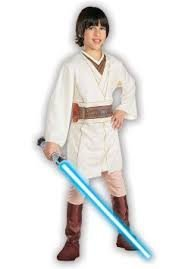 Basic Child Obi Wan Kenobi Costume by Official Costumes