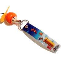 - New Super Mario Bros. Wii Mascot Banner Charm Strap Epoch - Propeller Mushroom