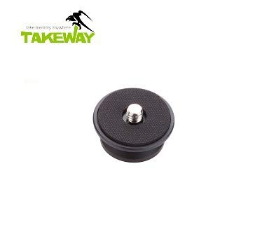 TAKEWAY T-RC01, Quick Release Clip, Quick Release mounting Platform of All Takeway Products, (T1/ T1 Plus Clampod R1/R2 Ranger Tripod use), Aluminum Alloy,