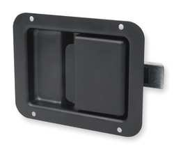 Battalion 1XPB6 Paddle Latch, Black, H 3 5/8 In by Battalion (Image #1)