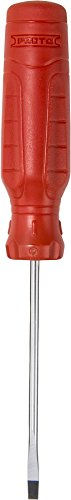 Stanley Proto JCP1803R Duratek Slotted Round Bar Cabinet Screwdriver, 1/8-Inch by 3-Inch ()