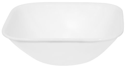 (Corelle Square Pure White 22 Ounce Soup/Cereal Bowl (Set of 4))