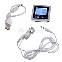 32GB Silver 1.8inch Touch Screen Clip MP3 MP4 Player in 1