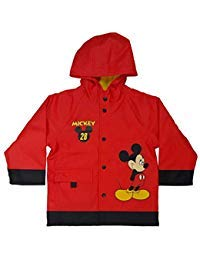 - Western Chief Boys Mischievous Mickey Rain Coat Red 6