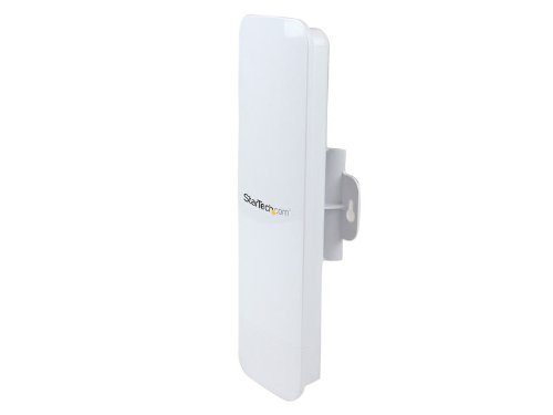 (StarTech.com Outdoor 150 Mbps 1T1R Wireless-N Access Point - 2.4GHz 802.11b/g/n WiFi AP - Pole/Wall-Mountable Long-Range PoE-Powered AP (AP150WN1X1OD))