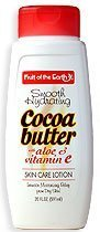 Fruit of the Earth Smooth Hydrating Cocoa Butter Lotion 20 oz.