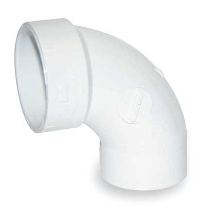 90 Deg Sweep Pvc Fitting - 5